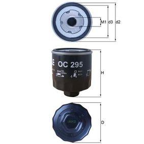 Ölfilter Ø: 76,0mm, Innendurchmesser 2: 62,0mm, Höhe: 89,5mm mit OEM-Nummer 030115561L