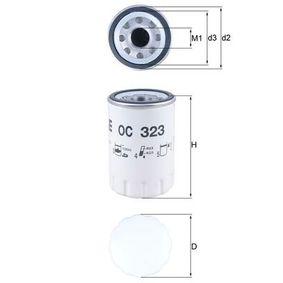 Ölfilter Ø: 76,3mm, Innendurchmesser 2: 62,5mm, Höhe: 119,2mm mit OEM-Nummer 96JV6714AA