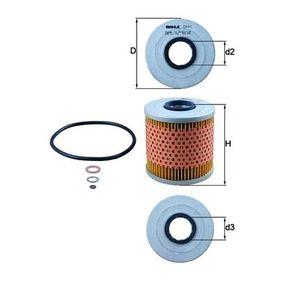 Ölfilter Ø: 82,0mm, Innendurchmesser 2: 27,7mm, Höhe: 88,5mm, Höhe 1: 82,5mm mit OEM-Nummer 1142 1 709 865