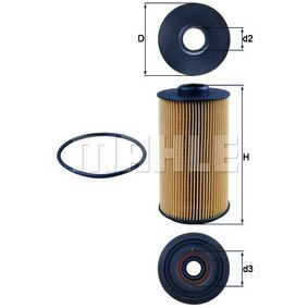 Ölfilter Ø: 83,0mm, Innendurchmesser 2: 31,9mm, Höhe: 160,0mm, Höhe 1: 145,25mm mit OEM-Nummer 1142 1 745 390