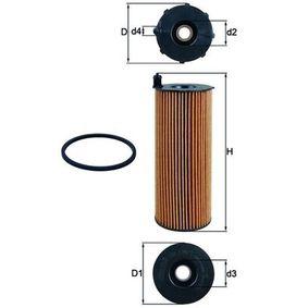 Oil Filter Ø: 76,0mm, Ø: 76,0mm, Inner Diameter 2: 29mm, Inner Diameter 2: 29mm, Height: 200mm with OEM Number 057 002 561 L