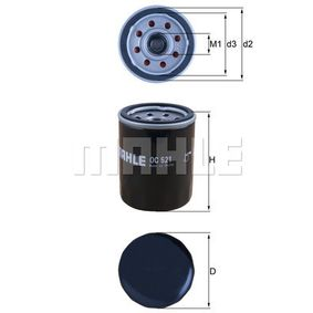 Ölfilter Ø: 65,5mm, Außendurchmesser 2: 63mm, Ø: 65,5mm, Innendurchmesser 2: 52mm, Innendurchmesser 2: 52mm, Höhe: 86mm mit OEM-Nummer S2630002750