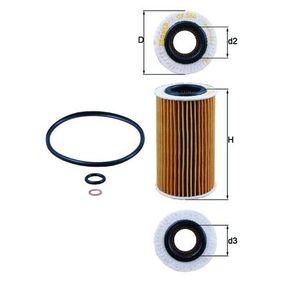 Ölfilter Ø: 62,5mm, Ø: 62,5mm, Innendurchmesser 2: 31mm, Innendurchmesser 2: 31mm, Höhe: 112mm mit OEM-Nummer 5650314