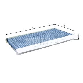 Filter, Innenraumluft Länge: 321mm, Breite: 167mm, Höhe: 30mm mit OEM-Nummer 6 950 936