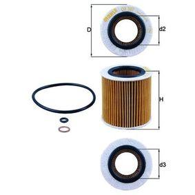 Ölfilter Ø: 74,0mm, Ø: 74,0mm, Innendurchmesser 2: 42mm, Höhe: 77mm, Höhe 1: 74mm mit OEM-Nummer 11 42 8 683 196
