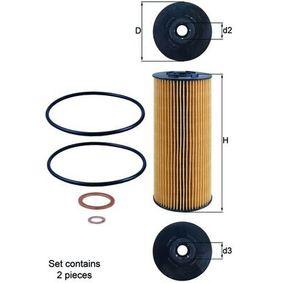 Ölfilter Ø: 83,5mm, Ø: 83,5mm, Innendurchmesser 2: 23mm, Innendurchmesser 2: 23mm, Höhe: 198mm mit OEM-Nummer A441 180 02 09