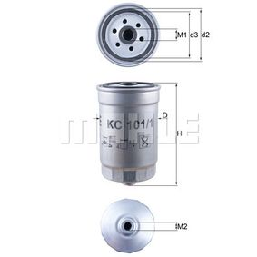 Fuel filter Height: 143mm with OEM Number S31922-2B900