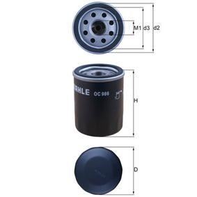 Oil Filter Ø: 65,5mm, Inner Diameter 2: 56,5mm, Height: 86,2mm with OEM Number 71773184