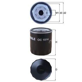 Oil Filter Ø: 76,0mm, Ø: 76,0mm, Height: 80mm with OEM Number 31330050