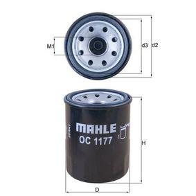 Ölfilter Ø: 65,5mm, Außendurchmesser 2: 63mm, Ø: 65,5mm, Innendurchmesser 2: 52mm, Innendurchmesser 2: 52mm, Höhe: 86mm mit OEM-Nummer 15208AA130