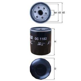 2010 Mazda 3 BL 2.0 (BLEFP) Oil Filter OC 1182