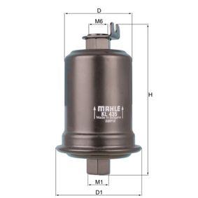 Ölfilter Ø: 52,0mm, Innendurchmesser 2: 24,3mm, Höhe: 111,9mm, Höhe 1: 108,0mm mit OEM-Nummer 06L 115 562