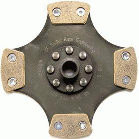 Kupplungsscheibe Zähnez.: 24, Ø: 210mm mit OEM-Nummer 664 250
