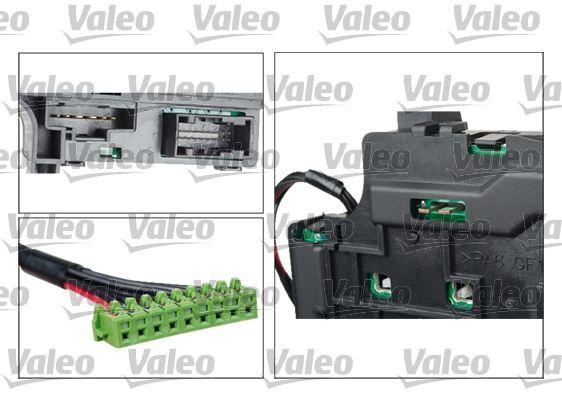 Conmutador en la columna de dirección VALEO 251638 evaluación
