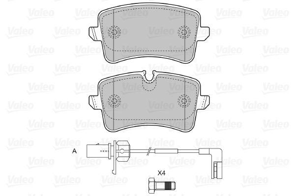 Bremsbelagsatz VALEO 601325 Bewertung