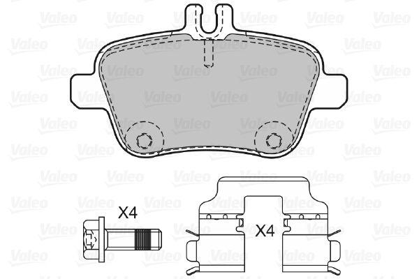 Bremsbelagsatz VALEO 601304 Bewertung