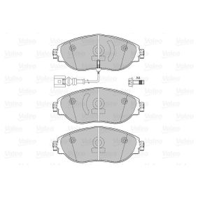 Brake Pad Set, disc brake Width: 175,1mm, Height: 69,6mm, Thickness: 20,00mm with OEM Number 7N0 698 151 E