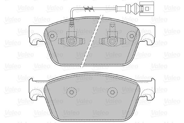 Bremsbelagsatz VALEO 601124 Bewertung