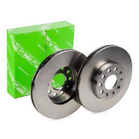 Bremsscheibe Bremsscheibendicke: 24,9mm, Felge: 5-loch, Ø: 287,8mm mit OEM-Nummer 1K0615301K