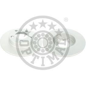 Bremsscheibe Bremsscheibendicke: 9mm, Ø: 232mm mit OEM-Nummer 1J0615601N