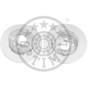Bremsscheibe Bremsscheibendicke: 10mm, Ø: 286mm mit OEM-Nummer 4 839 338