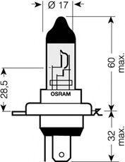 Glühlampe, Fernscheinwerfer OSRAM 9003 Bewertung