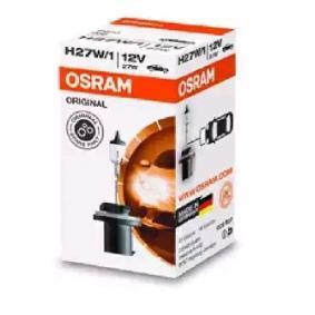 Bulb, headlight H27W/1, PG13, 27W, 12V, ORIGINAL 880 HYUNDAI i30, ix35, SANTA FE