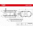 OEM Bremsbelagsatz, Scheibenbremse SKOP-1003 von STARK