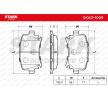Bremseklosser VW Golf 5 (1K1) 2004 produksjonsår 7306500 STARK bakaksel, ekskl. slitasjevarselkontakt