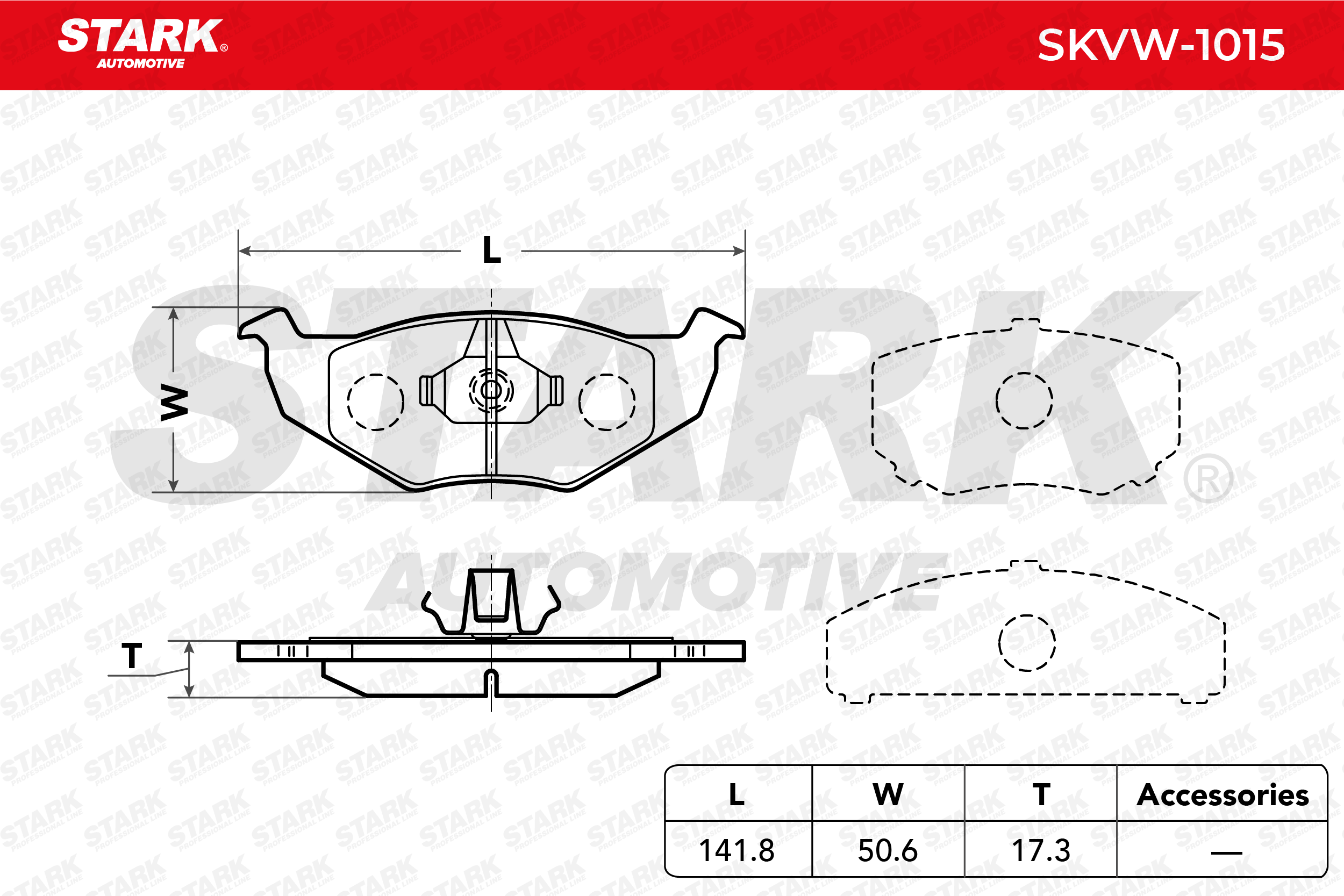 Bremsklötze STARK SKVW-1015 Erfahrung