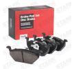 OEM Комплект спирачно феродо, дискови спирачки SKAD-1018 от STARK