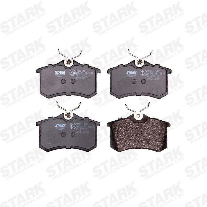 Pastillas de Freno & Juego de Pastillas de Freno STARK SKAD-1028 4059191000746