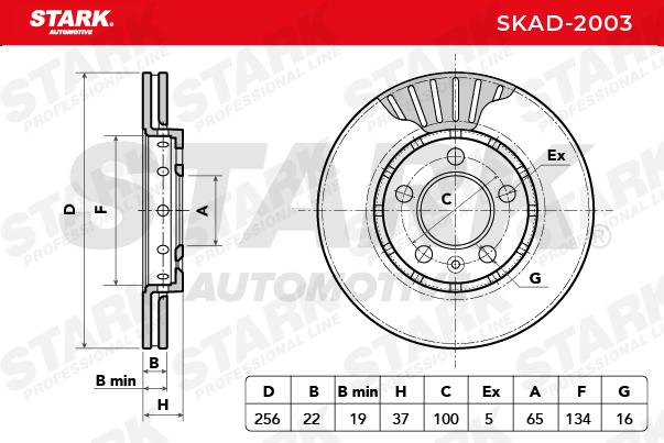 Artikelnummer SKAD-2003 STARK Preise