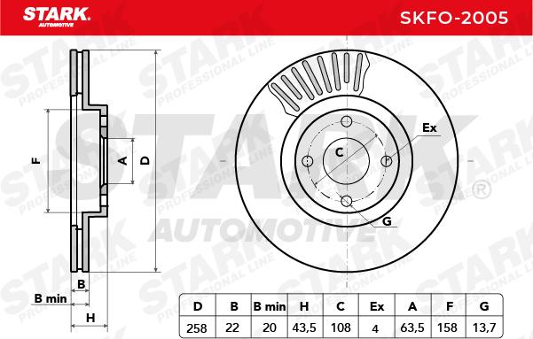 STARK SKFO-2005 EAN:4059191000821 online store