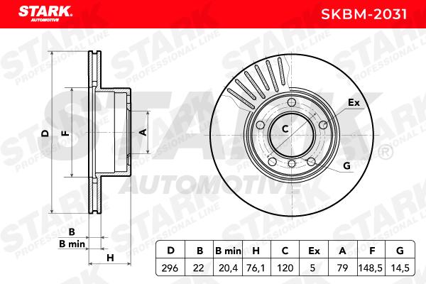 Artikelnummer SKBM-2031 STARK Preise