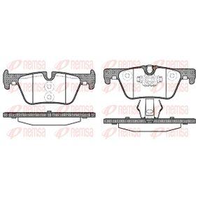 Brake Pad Set, disc brake 1476.00 3 Saloon (F30, F80) 320d 2.0 MY 2016