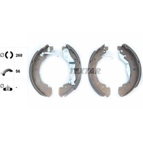 Bremsbackensatz Breite: 56mm mit OEM-Nummer 701609531