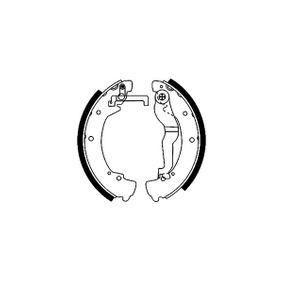 Bremsbackensatz Breite: 56mm mit OEM-Nummer 701609532E