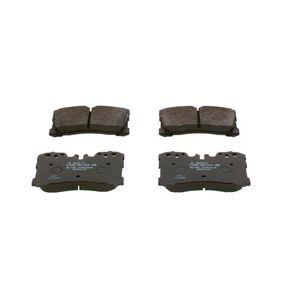 Bremsbelagsatz, Scheibenbremse Breite: 133,9mm, Höhe: 87,8mm, Dicke/Stärke: 18,3mm mit OEM-Nummer 04465 0W110