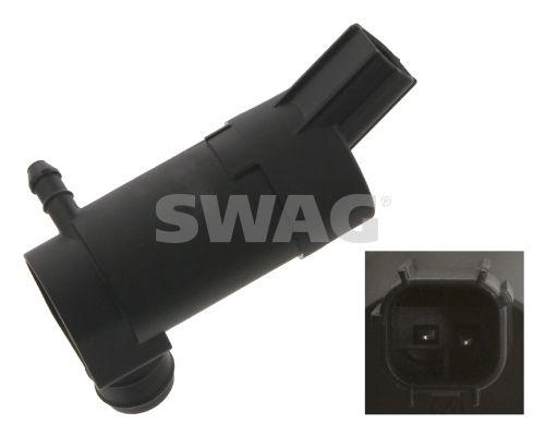 SWAG  50 93 4864 Waschwasserpumpe, Scheibenreinigung Spannung: 12V, Anschlussanzahl: 2