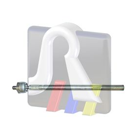 Articulación axial, barra de acoplamiento Long.: 342,5mm con OEM número 3812E5