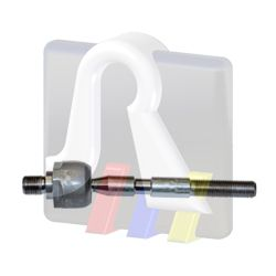 RTS  92-08822 Tie Rod Axle Joint Length: 163mm