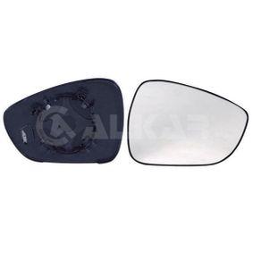 ALKAR  6432862 Spiegelglas, Außenspiegel