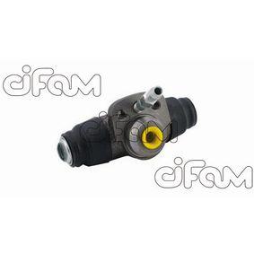 Cilindro de freno de rueda Calibre Ø: 17,46mm con OEM número 331611053A