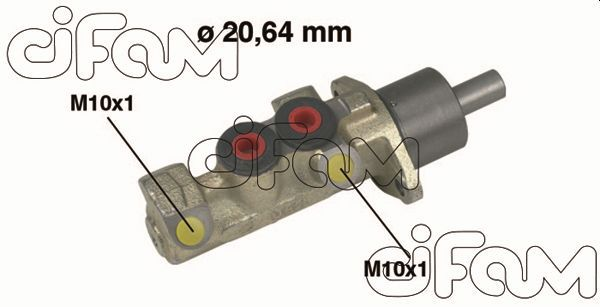CIFAM  202-146 Cilindro principal de freno
