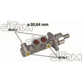 Brake Master Cylinder 202-289 PUNTO (188) 1.2 16V 80 MY 2000