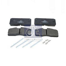 Kit pastiglie freno, Freno a disco Largh.: 175,5mm, Alt.: 78mm, Spessore: 22mm con OEM Numero 2 711 90