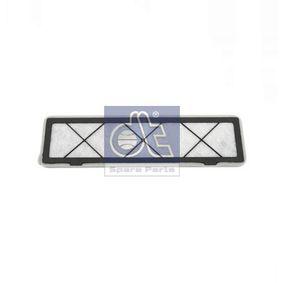 DT  7.74107 Filter, Innenraumluft Länge: 340mm, Breite: 95mm, Höhe: 10mm