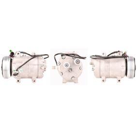 ELSTOCK Kompressor, Klimaanlage 51-0061 für AUDI 80 (8C, B4) 2.8 quattro ab Baujahr 09.1991, 174 PS