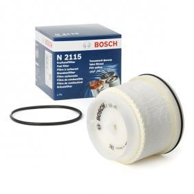 Fuel filter Height: 76mm with OEM Number 23390-0L040